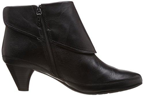 Clarks Lucilla Denny, Boots femme Noir (Black Leather)