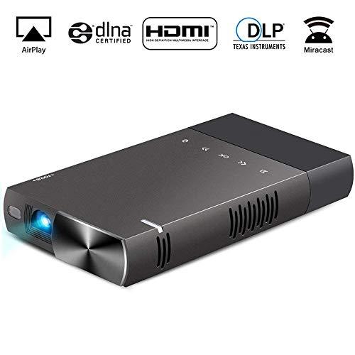 KAIDILA Projektors, S1 Portable Projektor ANSI 854 x 480 P HD 1080p Mini Projektor Heimkino S1 Lcd