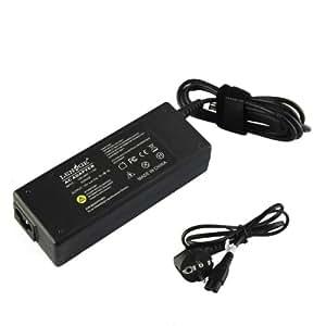 LENOGE® 19V 4.74A 90W Alimentation Ac Adaptateur Chargeur PC Portable pour Samsung R580 Qx410 Rv510 Rv511 Rf511 Rf711 R540 R600 R720 300V3A 305V5A NP700Z5A NP700Z5A-S01US NP700Z5A-S02US ZX310 ZX110 QX412 RF511 . Avec câble d'alimentation standard européen