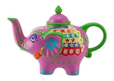 Éléphant-verseuse design: rose-théière en porcelaine avec couvercle 1828 0,8 l