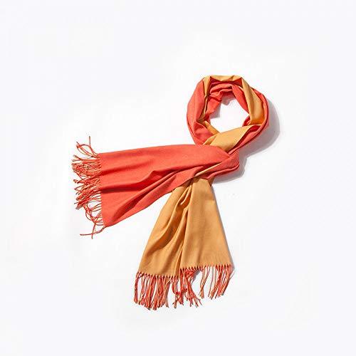 OME&QIUMEI Baumwollschal Doppelseitiger Reiner Schal Schal Für Herren Mit Klimaanlage