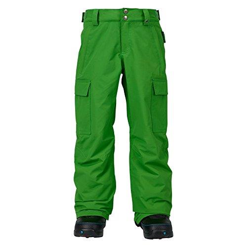 Burton Jungen Exile Cargo Pants Snowboardhose, Slime, M (Pant Cargo Snowboard)
