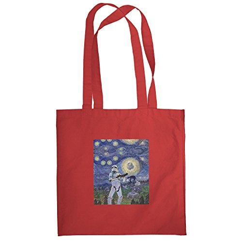 Texlab–Endor Nights–sacchetto di stoffa Rot