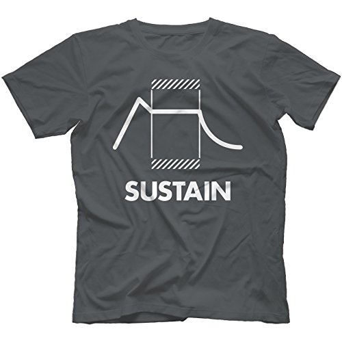 sustain-synthesiser-t-shirt-100-cotton-retro-synth-analog-synthesizermediumcharcoal
