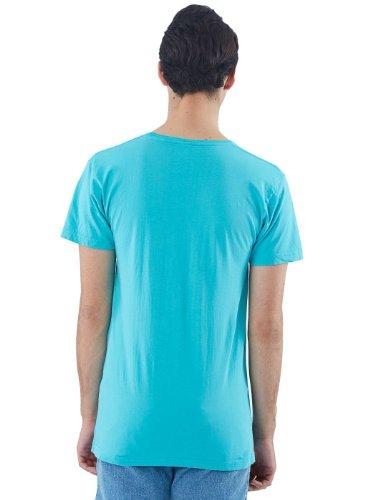 American Apparel Herren T-Shirt blau blau High Dive