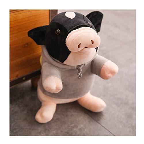 IIWOJ Niedliche Pig Plush Doll, Simulation Animal Kissen, schlafende Puppe Geburtstagsgeschenk,55cm
