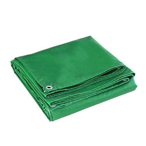 Regensicherer Markisenstoff für schwere Aufgaben mit Ösen, (grün) Festzelt-Partyzelt Auto-Baldachin-Markise Hohe Dichte (größe : 13.2x19.8ft/4x6m)