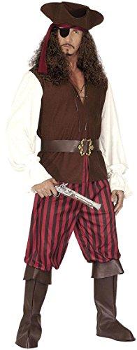Widmann 44393 - costume da pirata, in taglia l