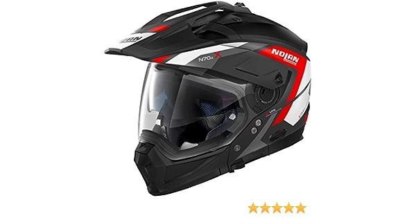 Nolan N70 2 X Grandes Alpes N Com Helmet M Auto