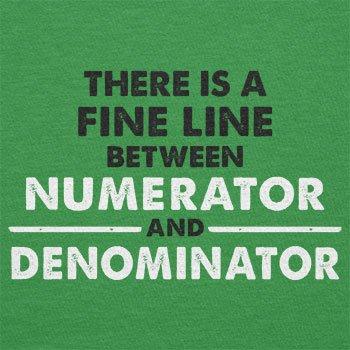 Texlab–numerator denominator–sacchetto di stoffa Verde