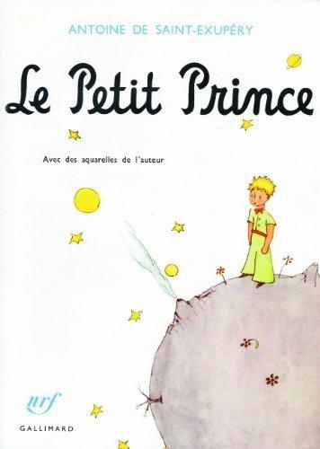 Le Petit Prince avec des aquarelles de l'auteur (French Edition) by Antoine de Saint-Exupery(1999-06-10)