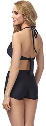 Merry Style Damen Bikini MS10-115 Schwarz (9240)
