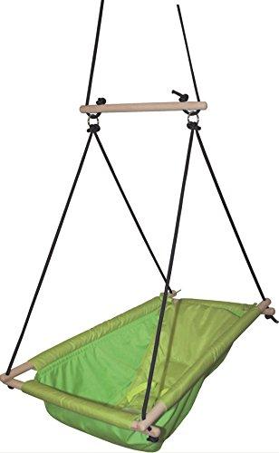 Preisvergleich Produktbild roba Hängesitz, Baby- & Kinderschaukel grün, Hängeschaukel verstellbar von Schaukelliege zu Schaukelsitz, Hängesessel ab Geburt bis ca, 6 Jahre oder 30kg
