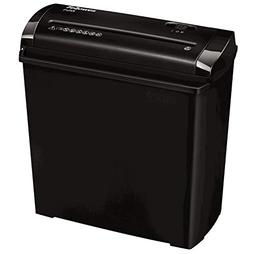 Fellowes 4701001 Destructeur de documents individuel P-25s Coupe Droite 5 feuilles