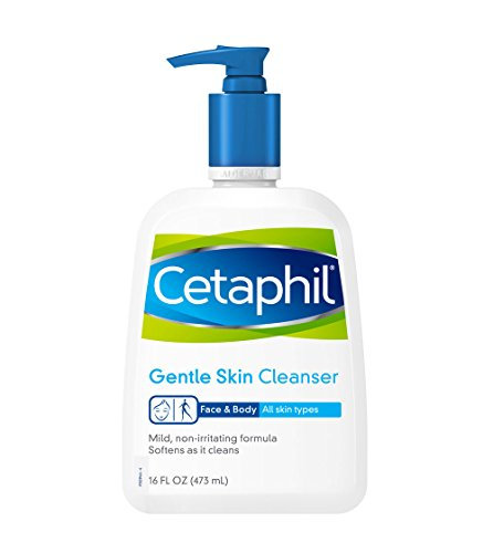 Cetaphil Gentle Skin Cleanser, For all skin types, 16-Ounce Bottles (Pack of 2)  available at amazon for Rs.2900