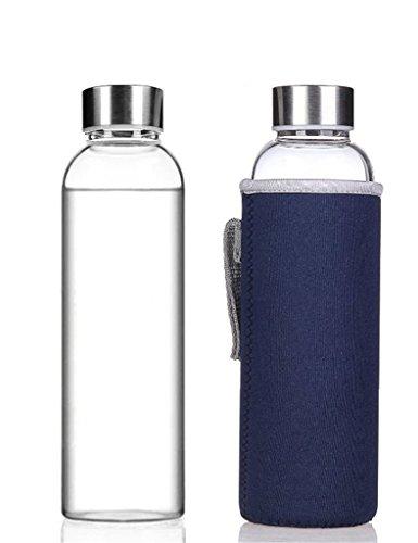 Alta calidad medioambiental NYKKOLA vidrio Peso ligero - botella de ag