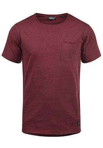 !Solid Andrej Herren T-Shirt Kurzarm Shirt Mit Rundhalsausschnitt Aus 100{37e53b2e366ba1060a610804d80c76c0391c658cb29d48b3f0ceaf72a126743a} Baumwolle, Größe:L, Farbe:Wine Red (0985)