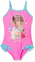Disney Girl's 16-2125 TC Monokini, Pink, 4 years (Manufacturer size: 104 cm)
