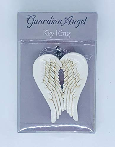 Guardian Outlet (Guardian Angel Wings Schutzengel-Flügel Schlüsselanhänger Andenken Tasche Anhänger Geschenk in Geschenkbox)