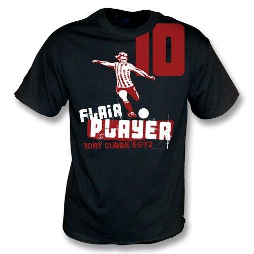 Giocatore di talento - maglietta X-Grande, colore di Tony Currie - il nero