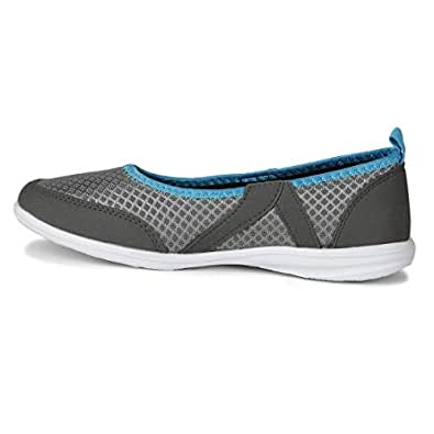 Power Women's Codex Grey Ballet Flats-5 UK (38 EU) (5592063)
