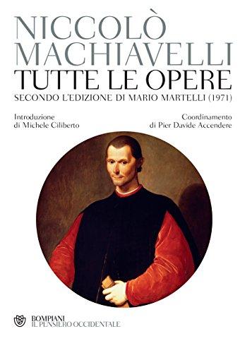 Tutte le opere: Secondo l'edizione curata da Mario Martelli (1971)