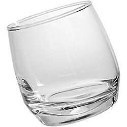 Sagaform - Verre à Whisky Fond Arrondi Jeu de 6 - Bar