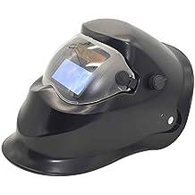 Aiming Auto Solar Soldadura de oscurecimiento Casco Protector plástico PP Soldadura eléctrica Soldadura máscara ...