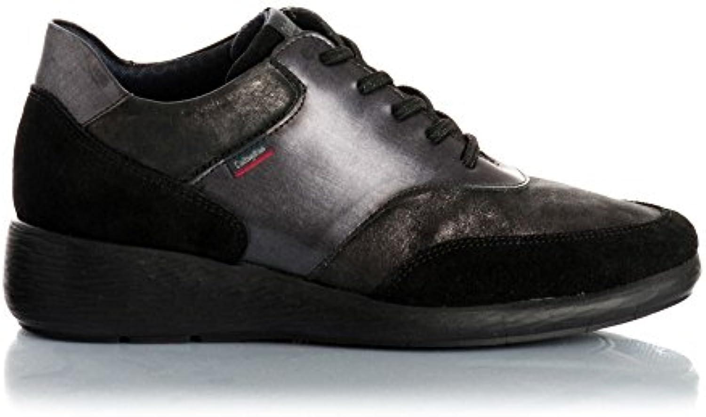 Callaghan 90414 scarpe da da da ginnastica Donna Pelle nero Grigio nero Grigio 38   Fai pieno uso dei materiali  fede61