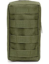 Green: Niceeshop(Tm) Tactical Pouches, Water-Resistant Multi-Purpose Molle Tactical Utility Gadget Gear Hanging...