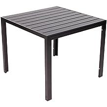 Amazon Fr Table Jardin Aluminium