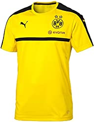 Puma-Camiseta para hombre, color amarillo/negro FR: XXL (talla) XXL