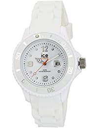 Ice-Watch - ICE forever White - Montre blanche mixte avec bracelet en silicone - 000124 (Small)