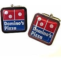 Dominos Chrome Cufflinks