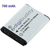 Digibuddy chargeur de batterie compatible avec nikon eN-eL-batterie li-ion