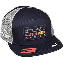 Red Bull Racing Adulti Red Bull Amr Ricciardo Flat cap 2018 ba80ef9f9ceb
