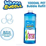 TEMSON Bubble Gun Refill Liquid - Bubble Liquid - Bubble Solution - Bubble Gun Fuel - Automatic Bubble Machine Liquid (1 Liter Container, 1000 ml)