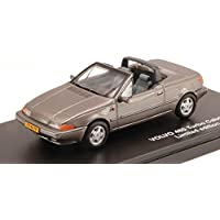 TRIPLE 9 T9-43065 VOLVO 480 TURBO CABRIOLET 1990 GUN GREY 1:43 DIE