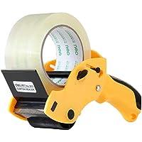 Plastico transparente etiquetadora Resistente y duradero sellado cinta de embalaje sellado de la máquina Fixture Manual de Baler Entrega color al azar cinchas de amarre