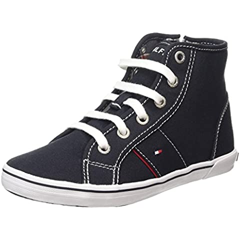 Tommy Hilfiger S3285later 16d-1 - Zapatillas Unisex Niños