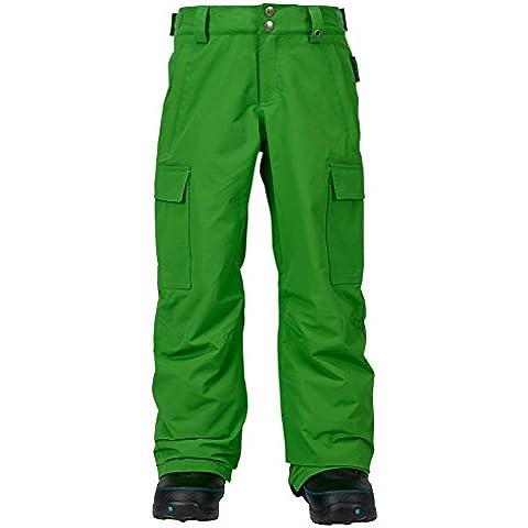 Burton–Pantaloni per ragazzo Exile Cargo Pants, Ragazzo, Snowboardhose EXILE CARGO Pants, Slime, XS