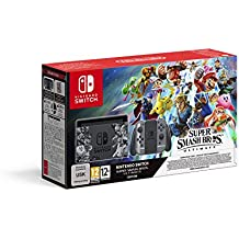 Nintendo Switch Grey Super Smash Bros. Ultimate Edition + Super Smash Bros. Download Code
