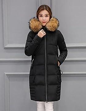 TT & ShangYi Standard relleno de mujer, Abrigo moda ciudad para USCIRE tinta unita otro polipropileno manga larga...