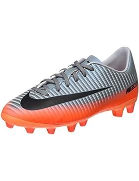 Nike Mercurial Vapor XI CR7 AG-Pro Botas de fútbol, Unisex niños, (Cool Mtlc Hematite/Wolf Grey/Total), 37.5 EU