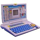 ESnipe Mart Kids Fun English Learner Educational Laptop For 20 Fun Activities Enhanced Skills Of Children Premium Quality Kids Educational Purpose For Boy & Girls Best English Learner Laptop