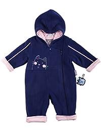 Sigikid Baby - Mädchen Strampler Fleece Overall, Baby