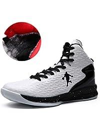 DANDANJIE Paio di Scarpe da Basket 2018 Caldo Inverno Comfort Athletic Scarpe  Uomo Sneakers 67b4461e355