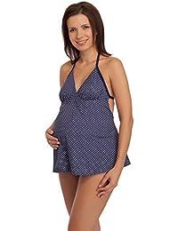 Be Mammy Premamá Trajes de Baño Bañador Traje de Baño 1 Pieza Entero Monokini Ropa Verano Embarazo Maternidad…