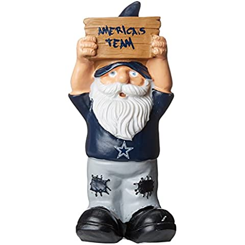 NFL Dallas Cowboys Slogan Sign Mini Gnome, Blue by Forever Collectibles