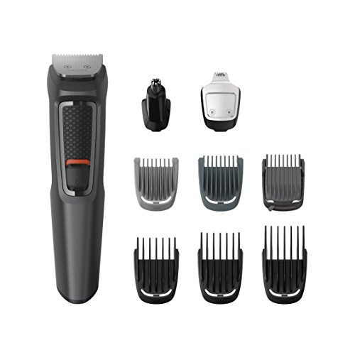 Philips MG3757 Grooming Kit Serie 3000 Rifinitore 9 in 1 Barba,...